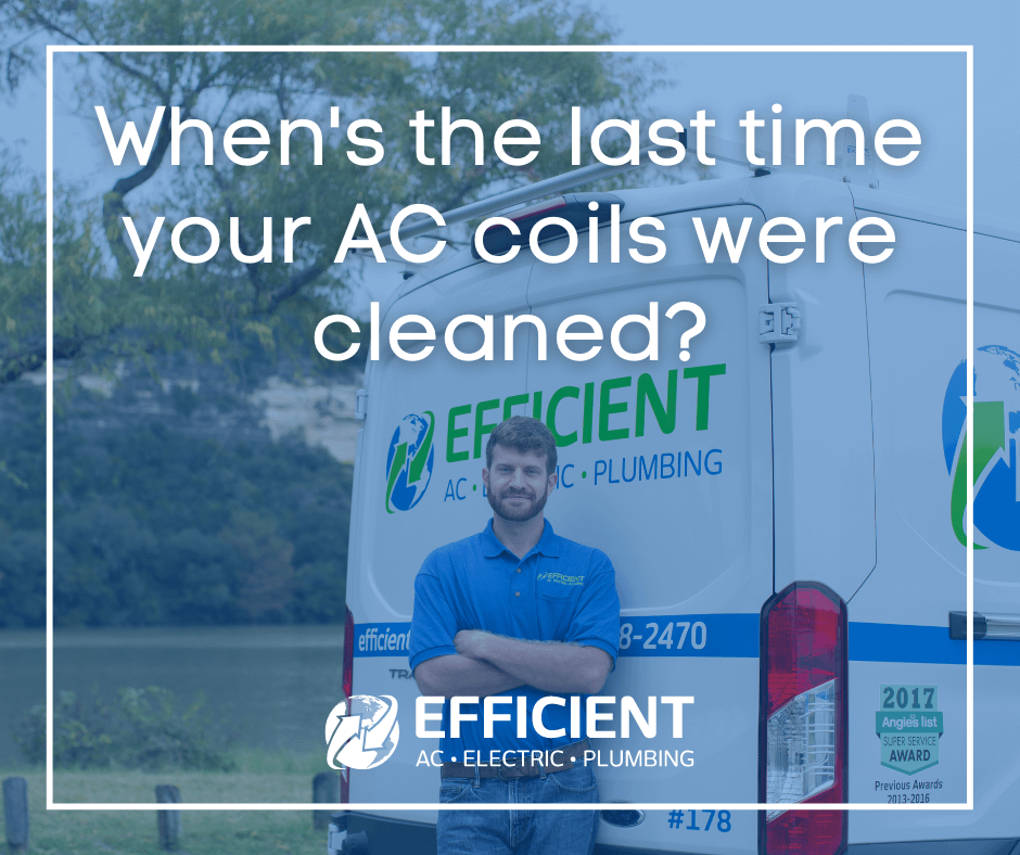 how to clean AC coils image