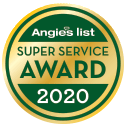 2020 Angie's List Super Service Award logo