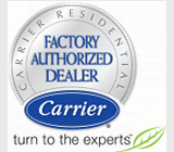 Factory Authorized Carrier Dealer logo
